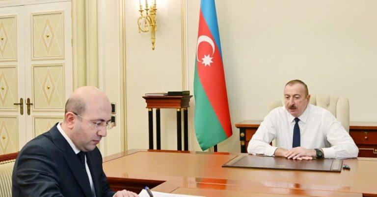 Prezident Anar Quliyevi qəbul edib – FOTO