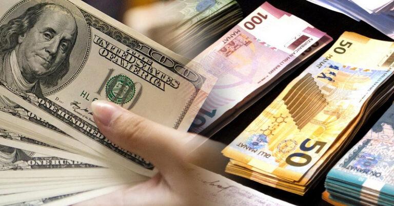 Dolların sabaha olan məzənnəsi açıqlandı