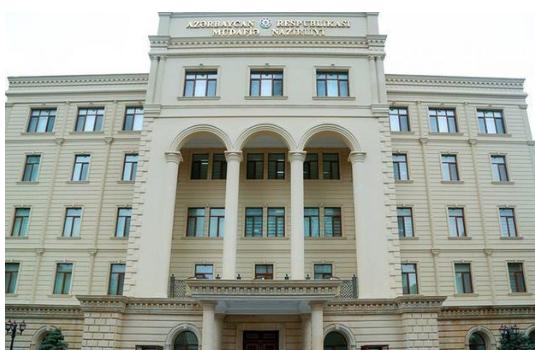 Azərbaycan Ordusu atəşkəs rejimini pozmayıb - Müdafiə Nazirliyi
