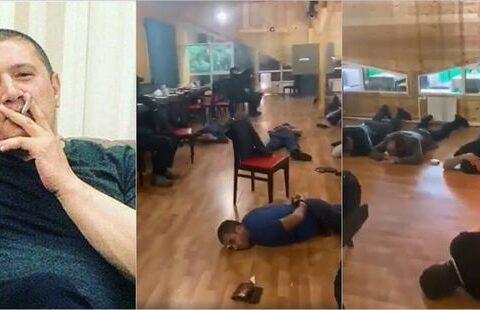 """""""Lotu Quli""""nin yas mərasiminə polis basqın etdi – VİDEO"""