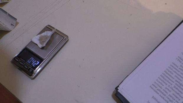 Qazaxda narkotacir yaxalandı – FOTO