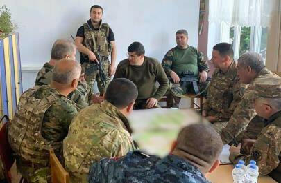 """Arutyunyan """"döyüşçüləri"""" ilə görün hara sığındı… – Foto"""