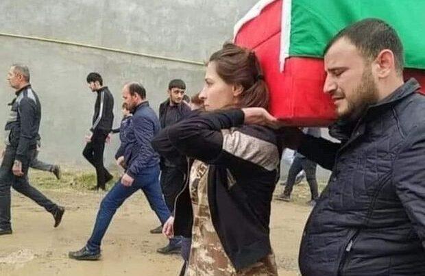 """""""Son borcum idi"""" – Qubadlıya bayraq sancan şəhidimizin həyat yoldaşı – VİDEO"""