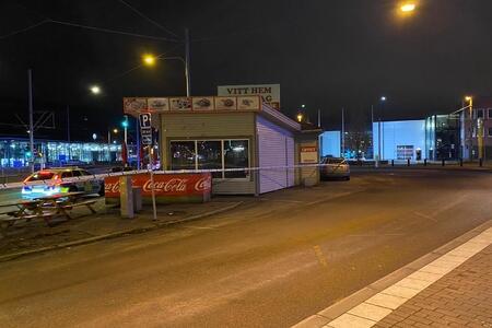 """Erməni vəhşiliyi: İsveçdə """"Qarabağ"""" restoranını yandırdılar – VİDEO"""