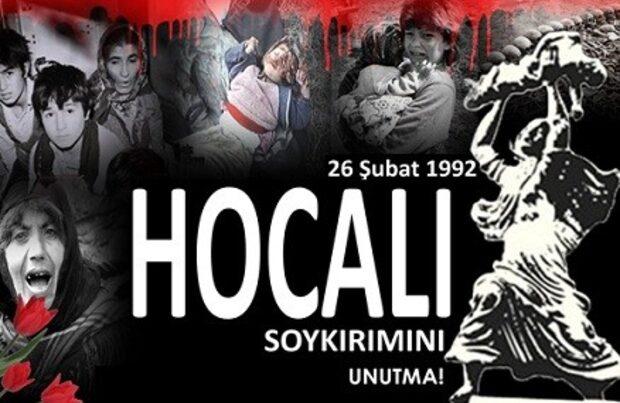 Ankarada Xocalı soyqırımı ilə bağlı rəsmi tədbir keçiriləcək