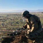 İşğaldan azad olunan ərazilərdə daha 137 mina aşkarlanıb – RƏSMİ – FOTO
