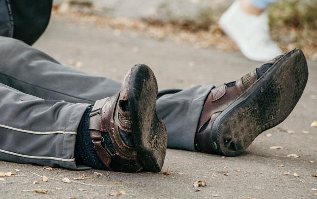 Qazaxda yol qəzası – Avtomobil piyadanı vurdu