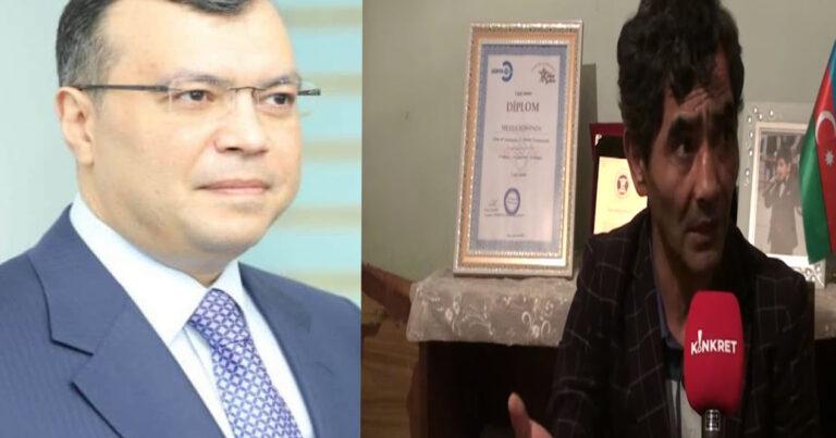 """Nazirə ağır sözlər: """"Sahil Babayev, qəhrəmansanmı ki, bir əlilin sonuna çıxasan?"""" – VİDEO"""