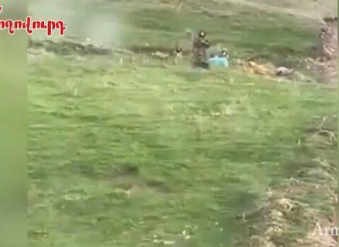 Azərbaycan hərbçilərinin Zəngəzurdan yeni görüntüləri yayılıb – VİDEO
