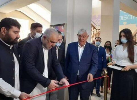 ADU-da Pakistan Mədəniyyət Mərkəzi açıldı – FOTO