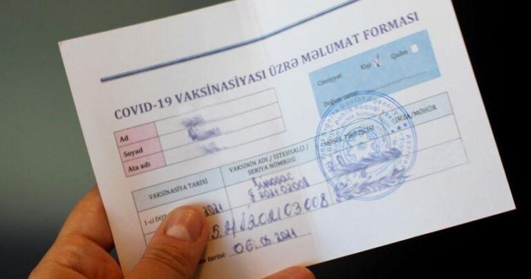 Nazirlikdən vacib açıqlama: Məhbuslarla görüş üçün COVİD pasportu tələb olunur